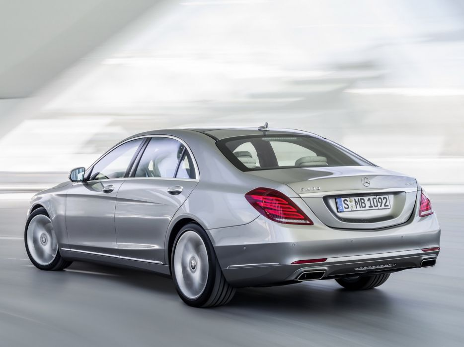 Mercedes Benz S400 Hybrid Car Vehicle Wallpaper