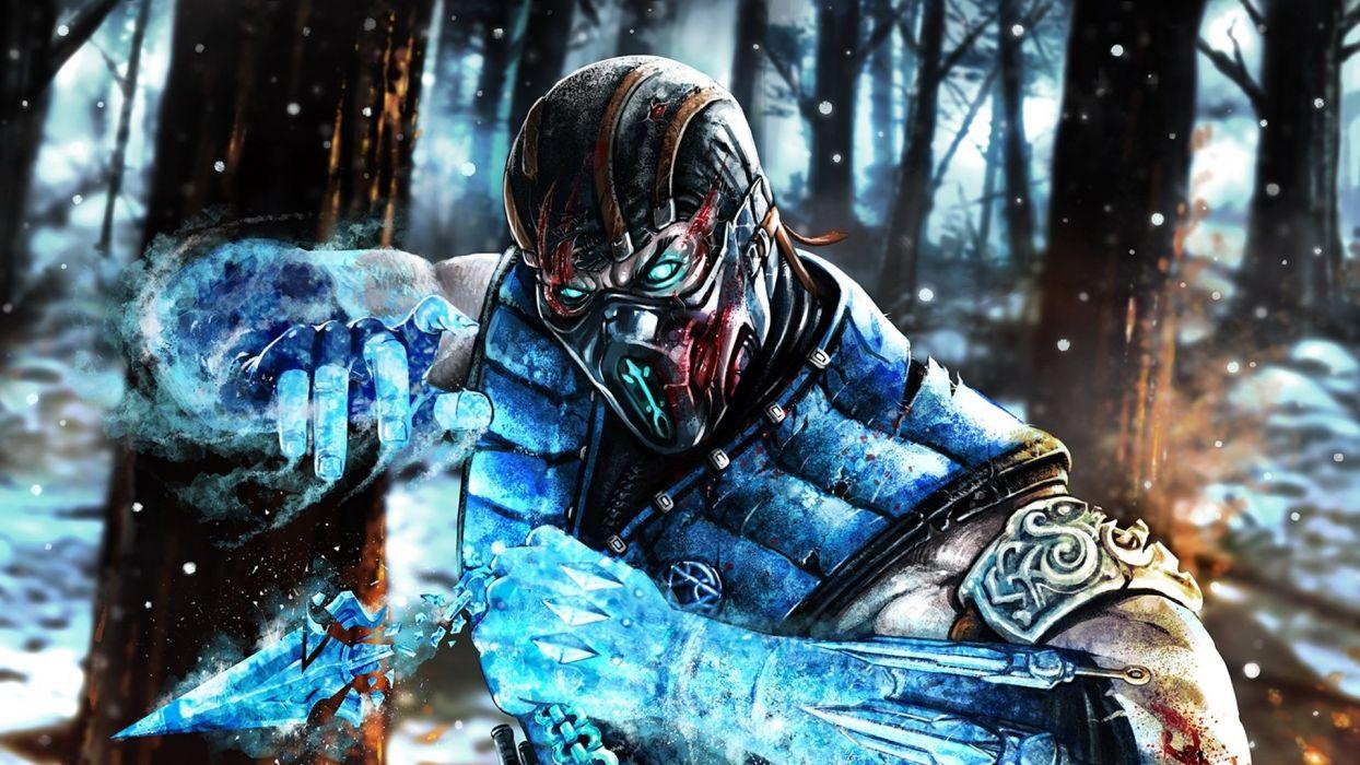 Mortal Kombat Sub Zero Wallpaper 1920x1080 562739 Wallpaperup