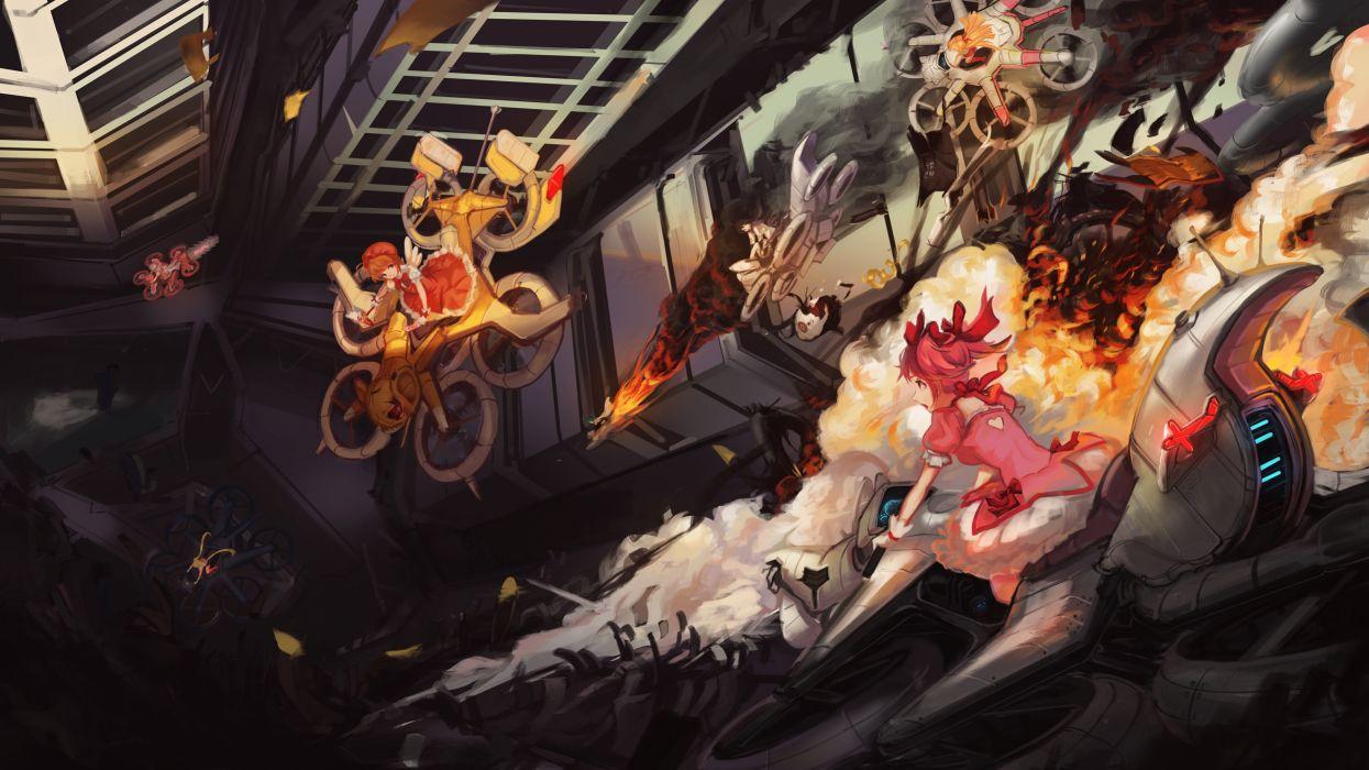 Cardcaptor Sakura Mahou Shoujo Madoka Magica Bishoujo Senshi Sailor Moon Aino Minako Akemi Homura wallpaper