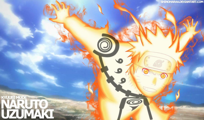 NARUTO Uzumaki Naruto Day Hitai-ate Orange Eyes wallpaper