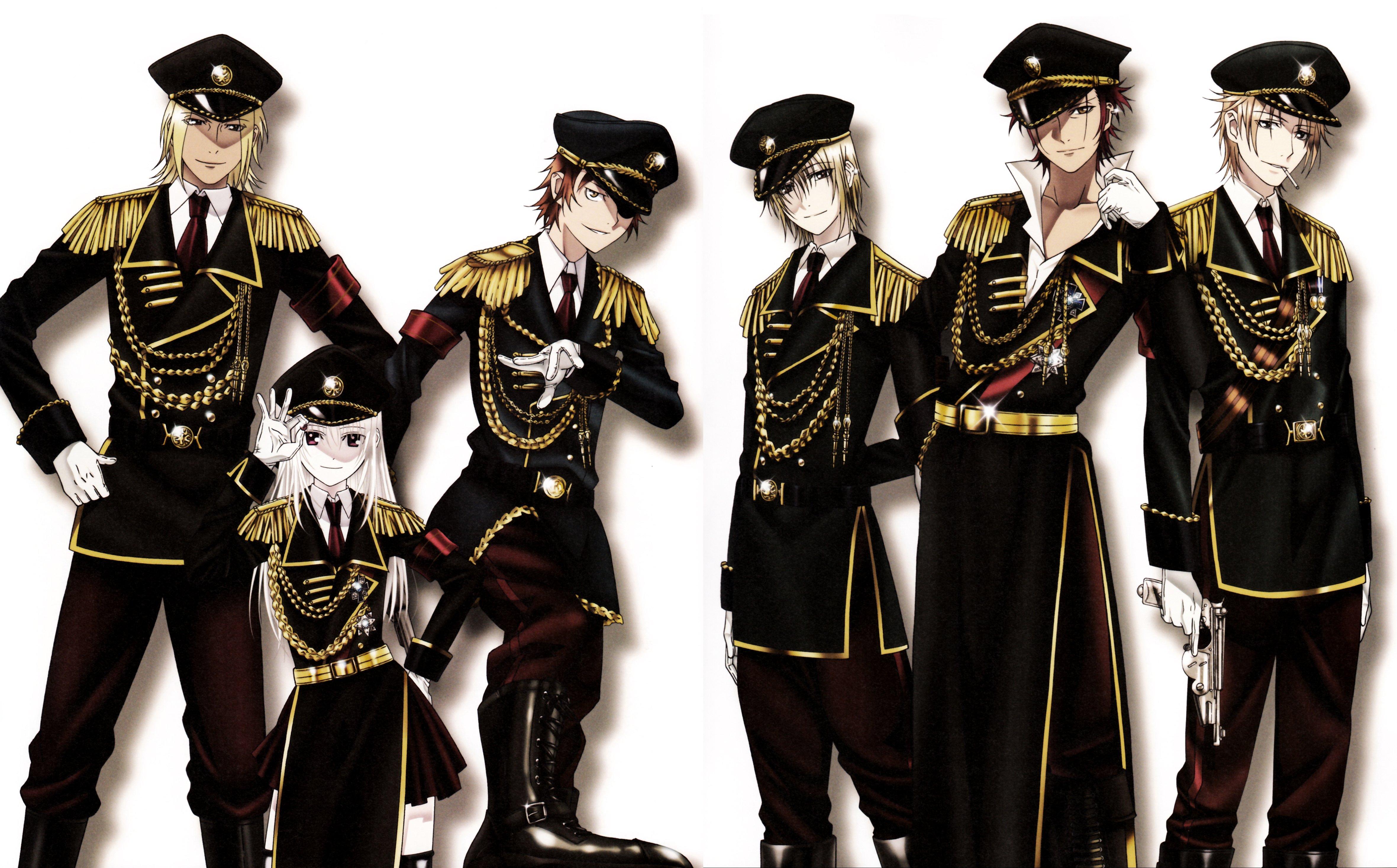 K Anime Characters Anna : K project yata misaki suoh mikoto kamamoto rikio kushina