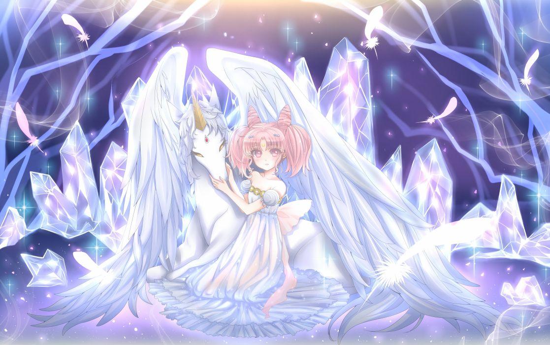 Bishoujo Senshi Sailor Moon Chibiusa Princess Usagi Small Lady Serenity Pegasu wallpaper