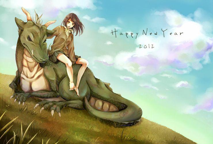 new year original dragon wallpaper