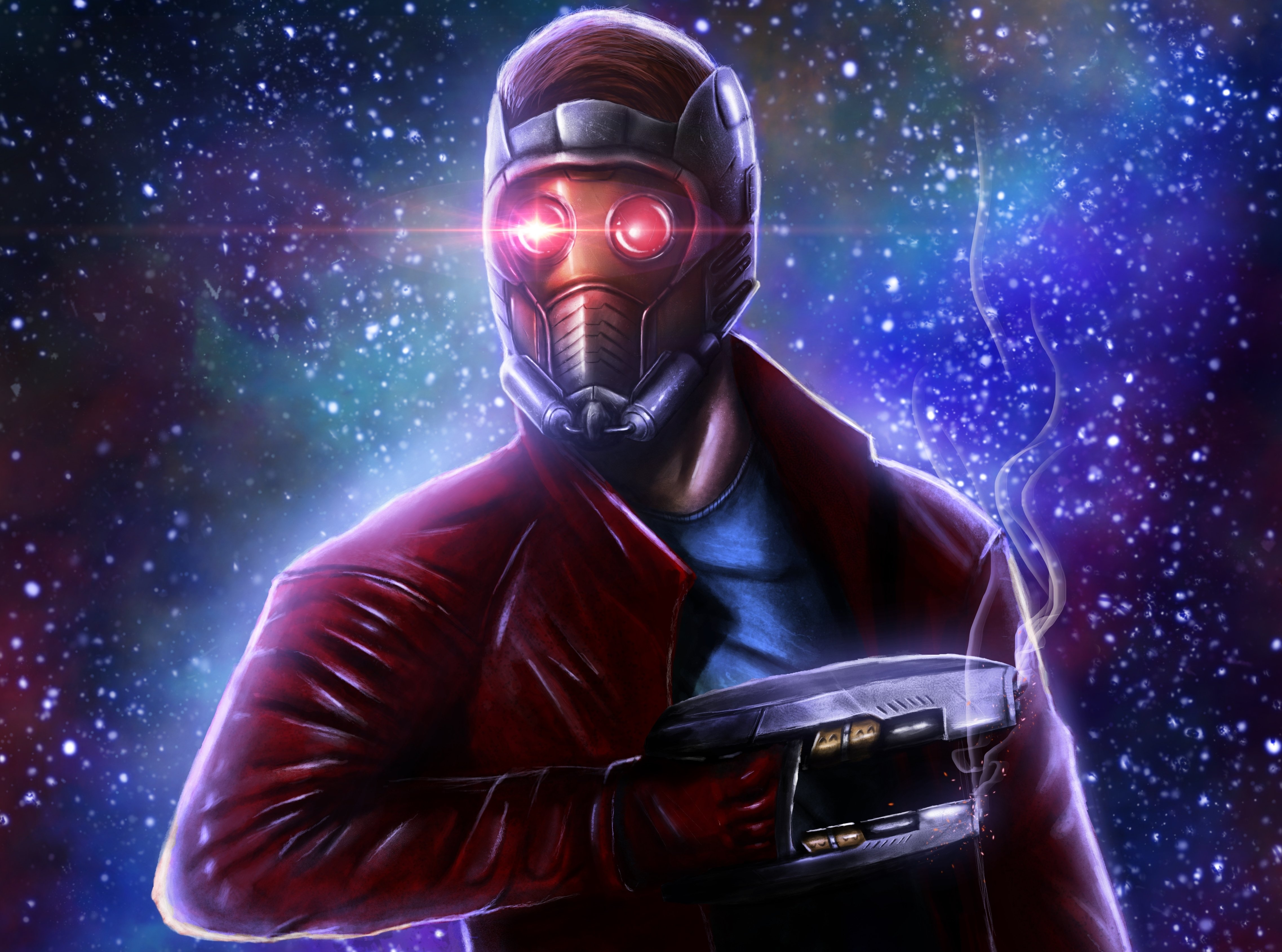 Guardians Of The Galaxy Star Lord Abstract Art 4k Hd: Guardians Of The Galaxy Star Lord Movies Fantasy Space