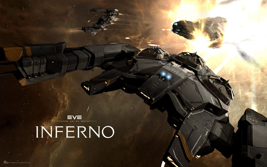 EVE online Ship Manticore Games Space sci-fi spaceship wallpaper