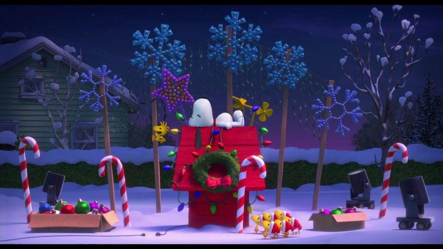 PEANUTS MOVIE animation family snoopy comedy cgi wallpaper