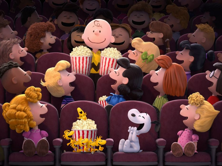 PEANUTS MOVIE animation family snoopy comedy cgi wallpaper