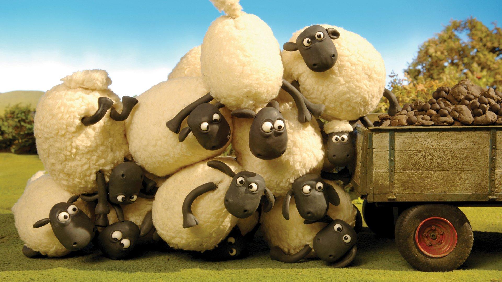 shaun the sheep wallpaper download