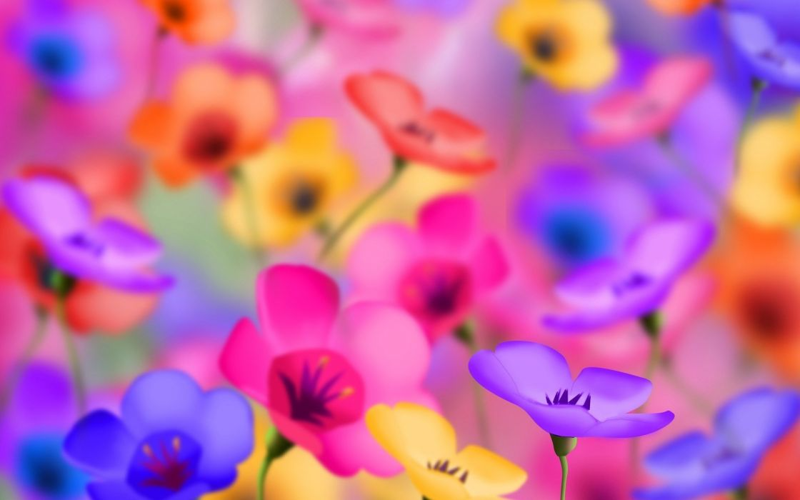 flowers Design art small pattern digital  wallpaper