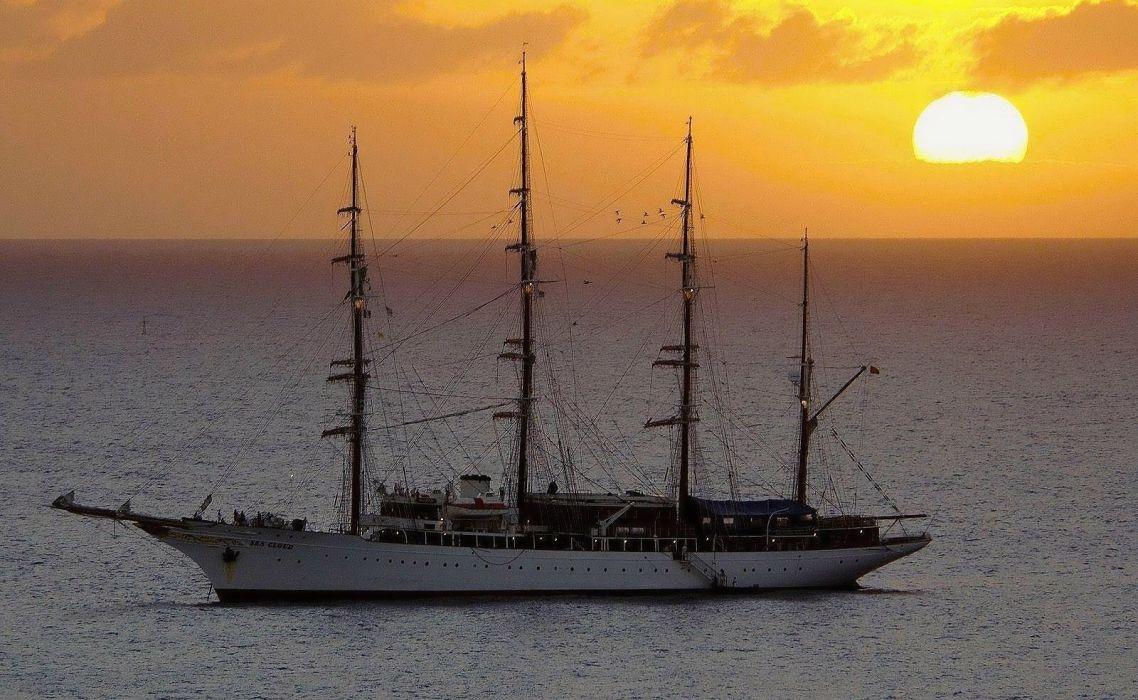 ship parusnik yahta ship ships frigate wallpaper