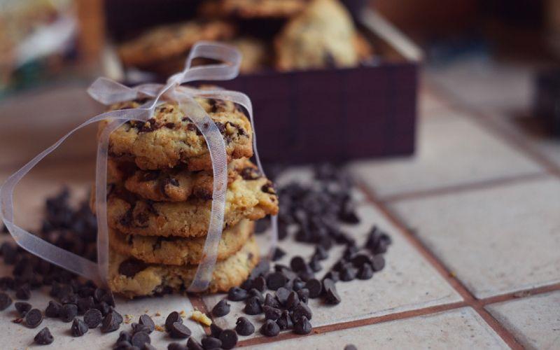 cookies chocolate cute food wallpaper