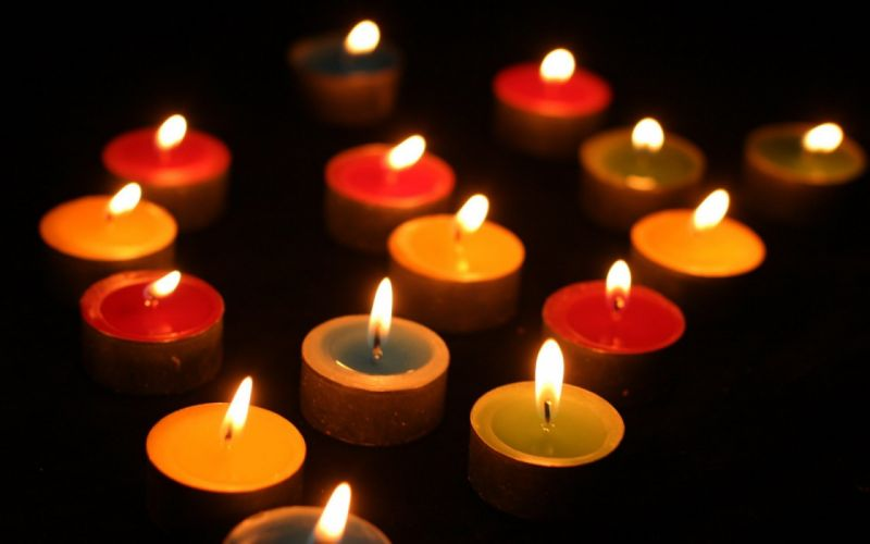 night light candle candles love dark life wallpaper