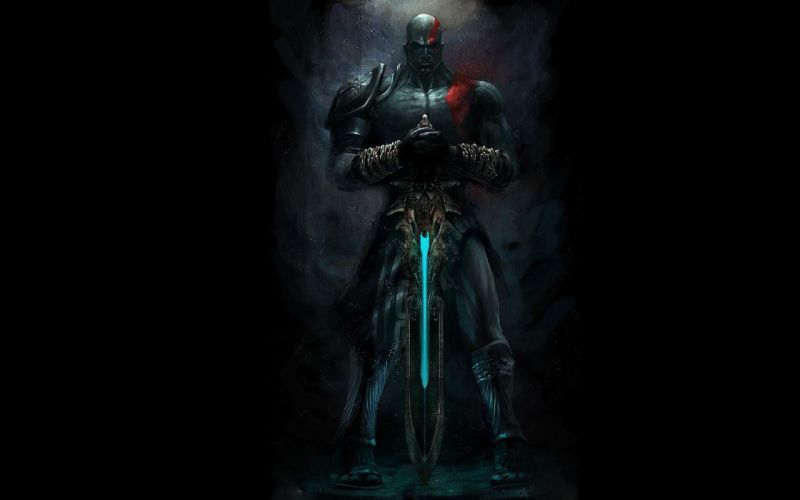 God of War Kratos and the Sword of Olympus wallpaper