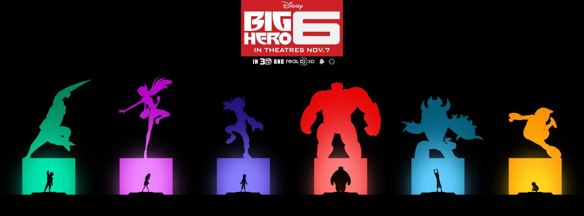 BIG-HERO-6 animation action adventure family robot cgi superhero big hero disney wallpaper