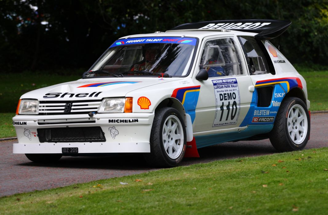 Peugeot 205 Turbo 16 Rally Groupe B Cars Sport Wallpaper