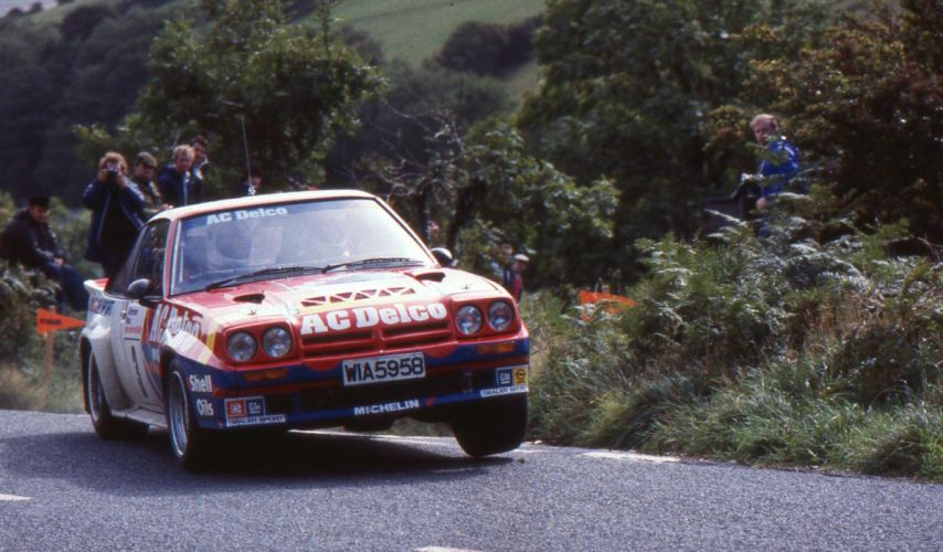 opel manta 400 rally groupe B cars sport wallpaper