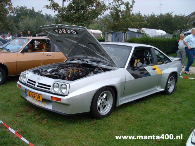 opel manta 400 rally groupe B cars sport wallpaper