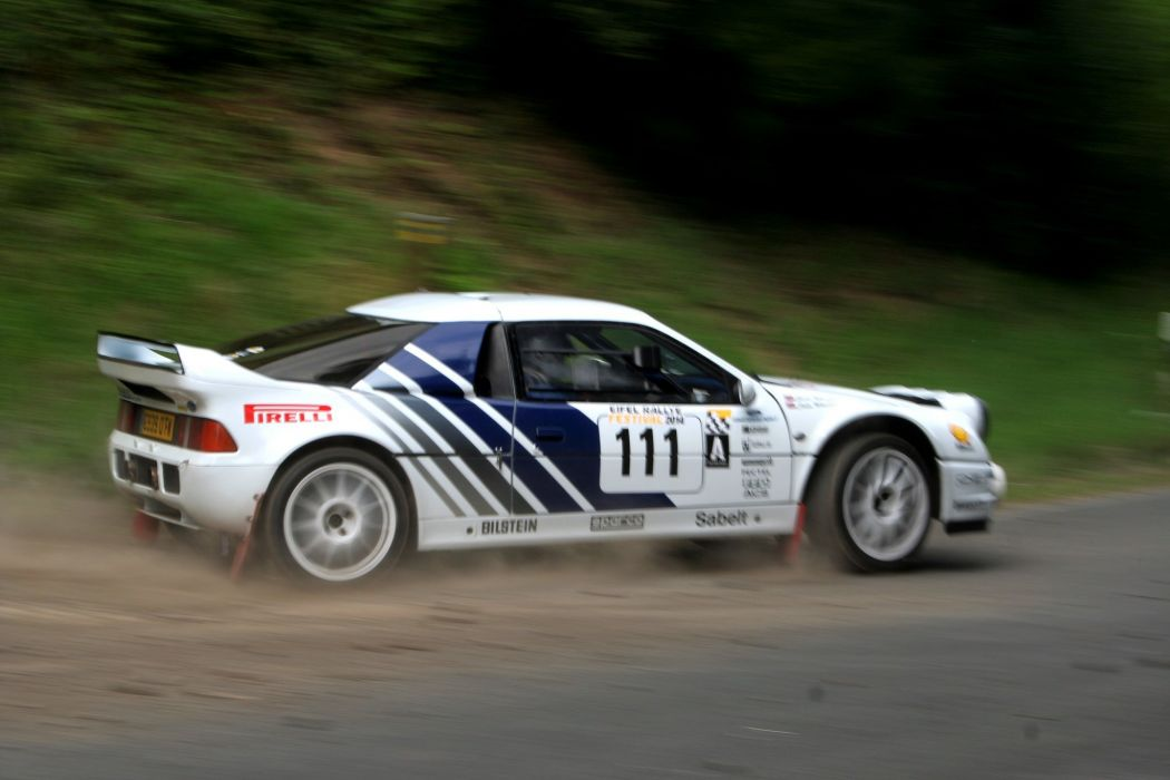 Ford RS200 rally groupe B cars sport wallpaper