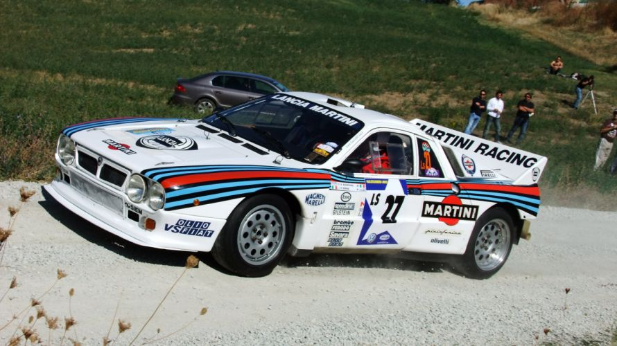 Lancia 037 rally groupe B cars sport wallpaper