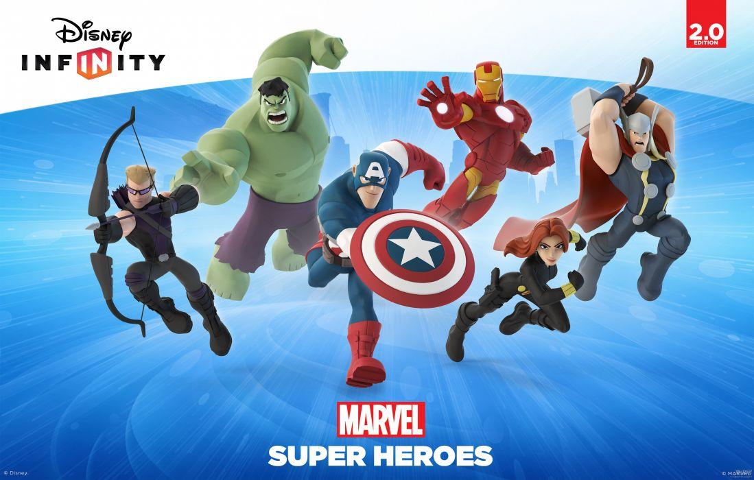 Disney-INFINITY animation family action adventure sandbox disney infinity superhero marvel wallpaper