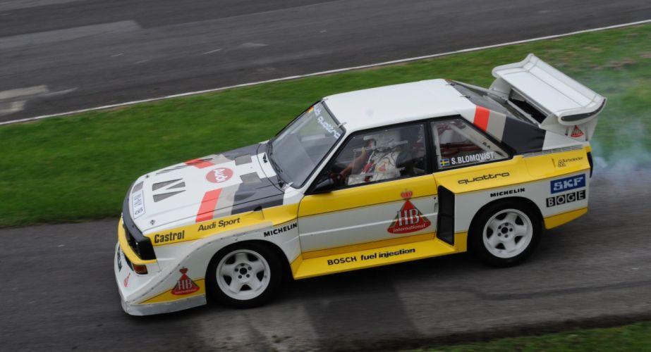 Audi Sport Quattro rally groupe B cars sport wallpaper