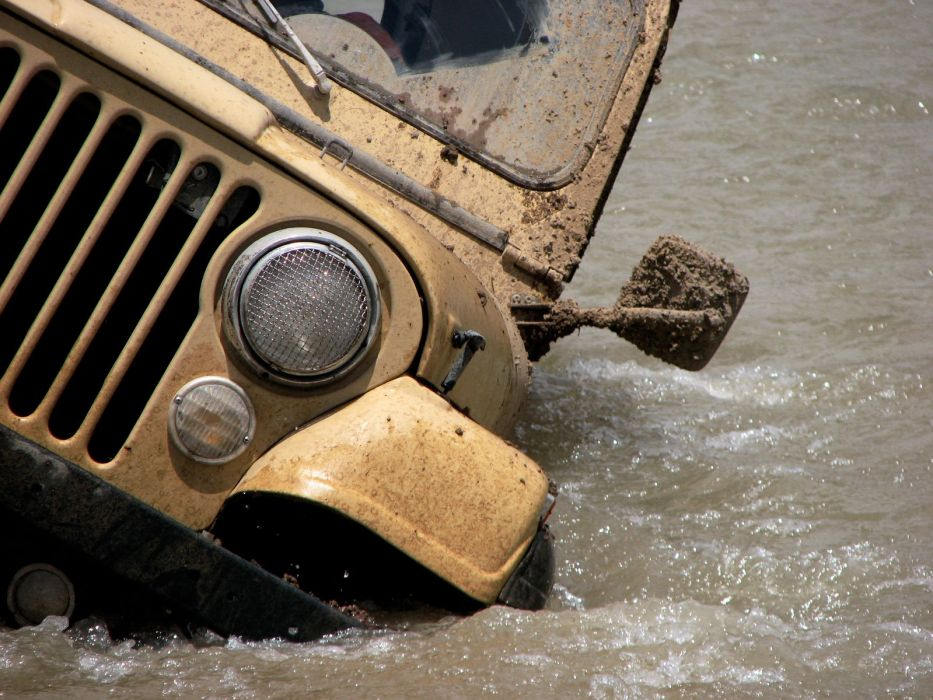 Jeep Drowning wallpaper