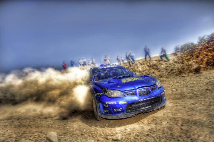 Subaru impreza WRC HDR 11 wallpaper