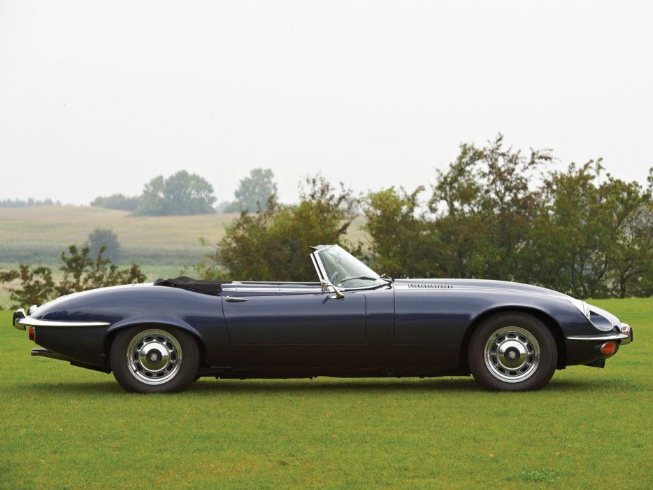 1971-74 Jaguar E-Type V12 UK-spec Series-III classic wallpaper