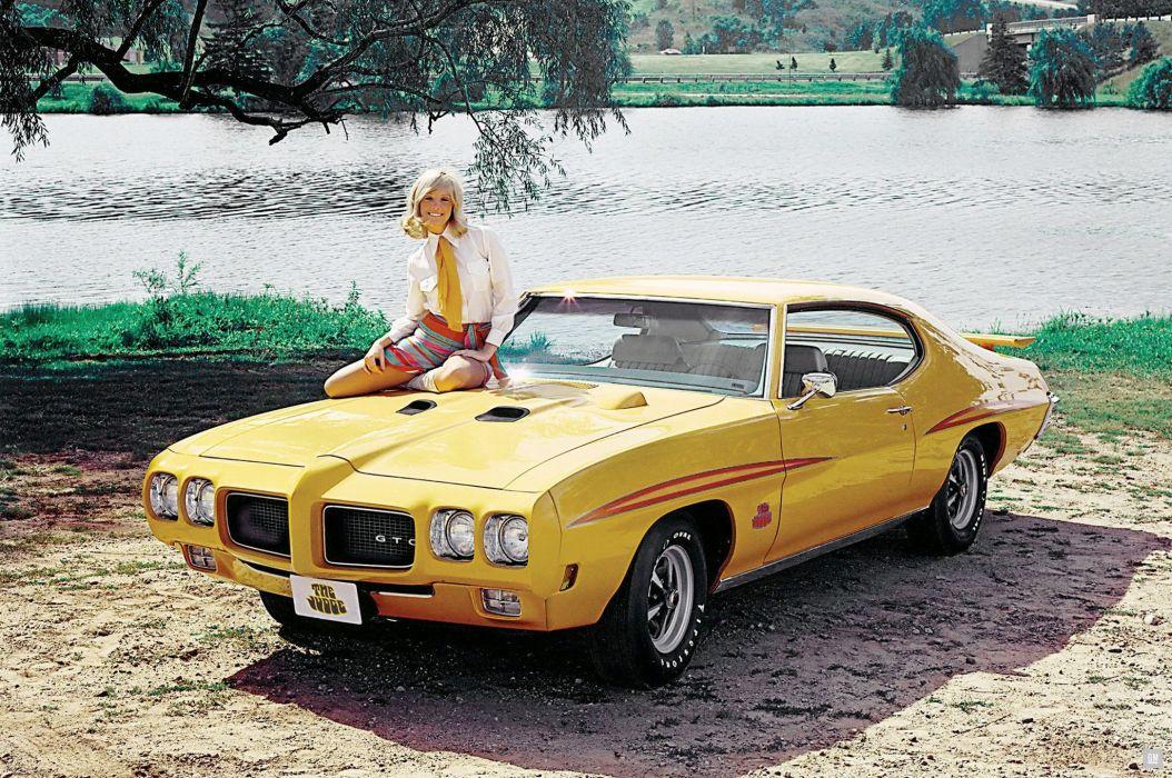 1970 Pontiac GTO Judge Hardtop Coupe 4237 muscle classic wallpaper