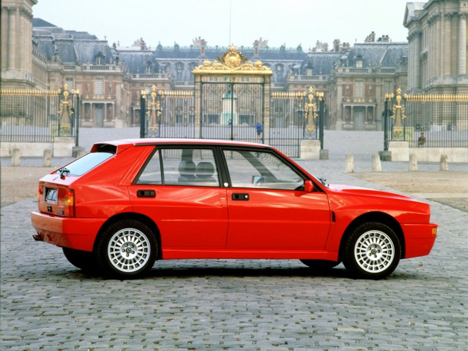 1991-93 Lancia Delta H-F Integrale Evo 831 wallpaper