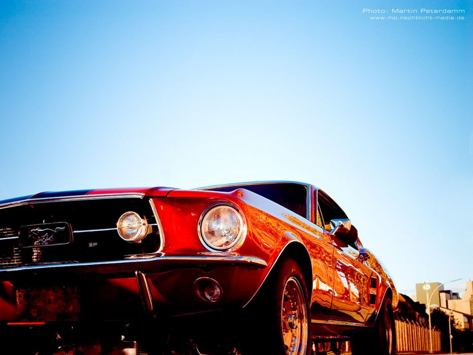 Ford Mustang S-Code Fastback wallpaper