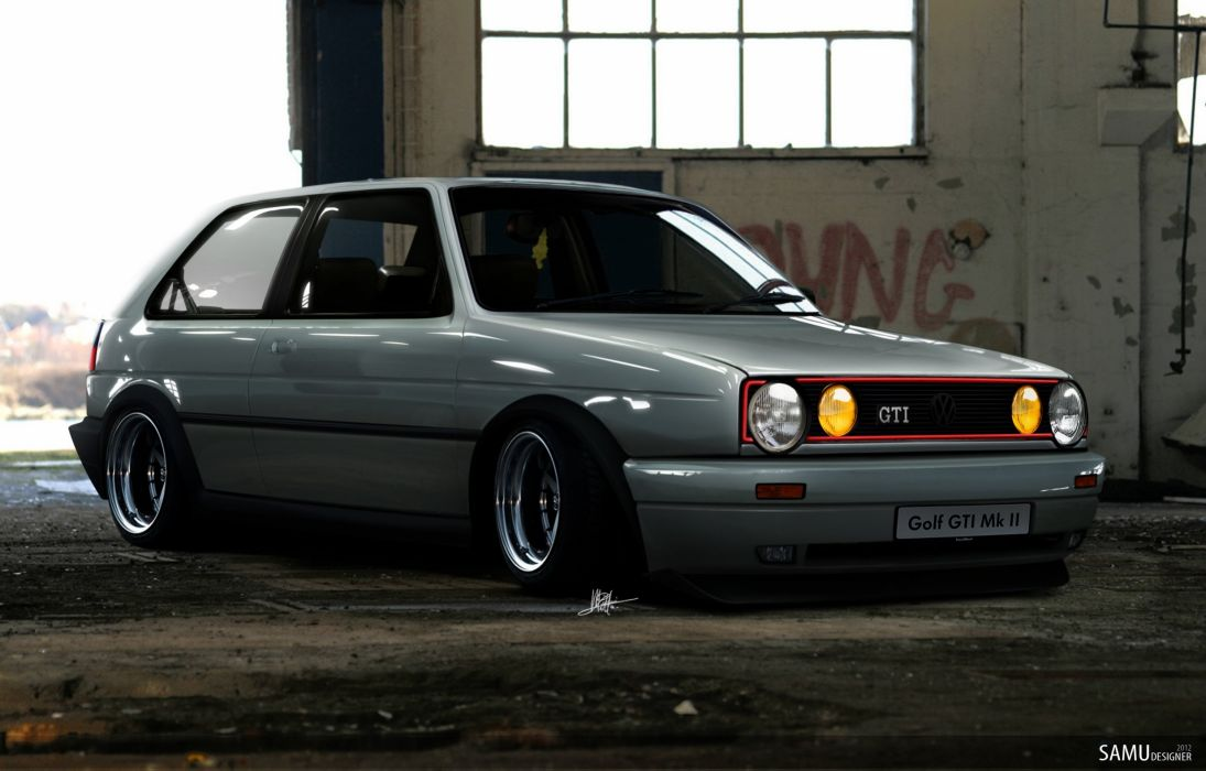 Golf MK2 GTI Euro wallpaper