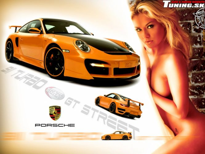 Porsche 911 TechArt Tuning wallpaper