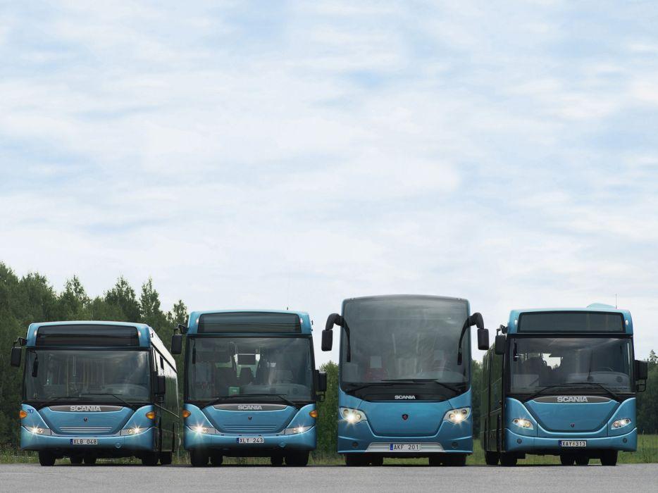 Scania semi tractor bus transport jj wallpaper