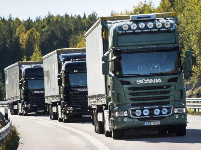 Scania semi tractor f wallpaper