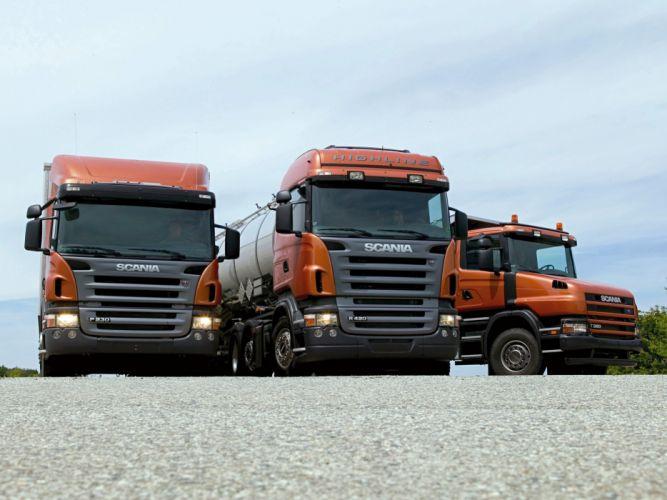 Scania semi tractor j wallpaper