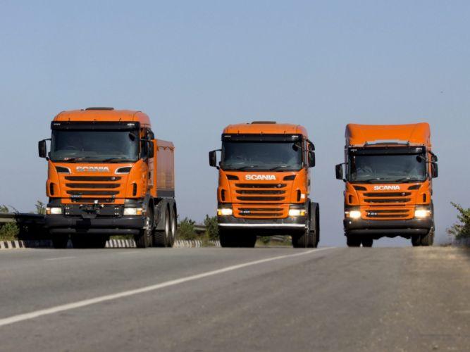 Scania semi tractor e wallpaper