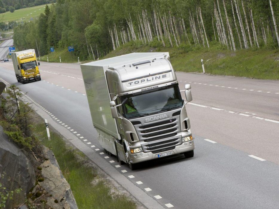 Scania semi tractor k wallpaper