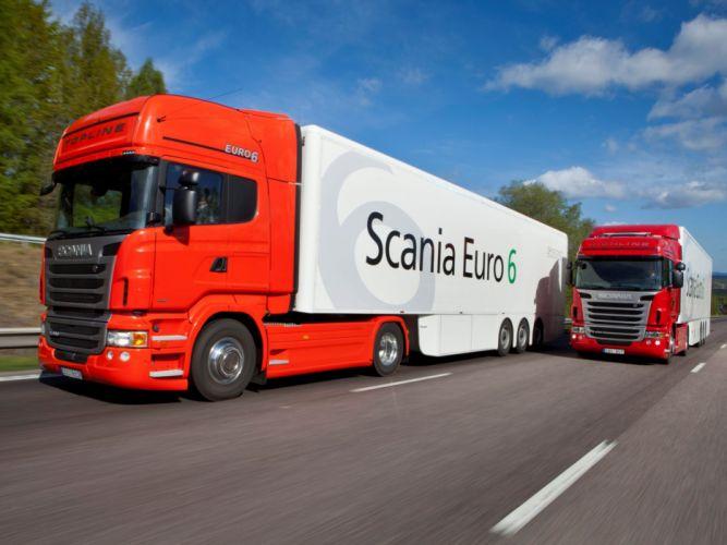 Scania semi tractor u wallpaper