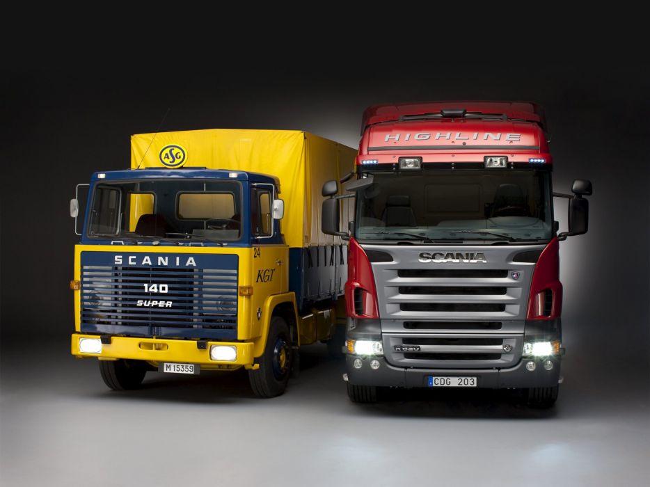 Scania semi tractor y wallpaper