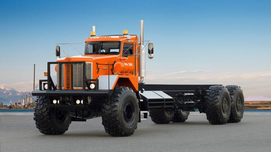 2014 Kenworth C500 Super 963 semi tractor transport 6x6 wallpaper