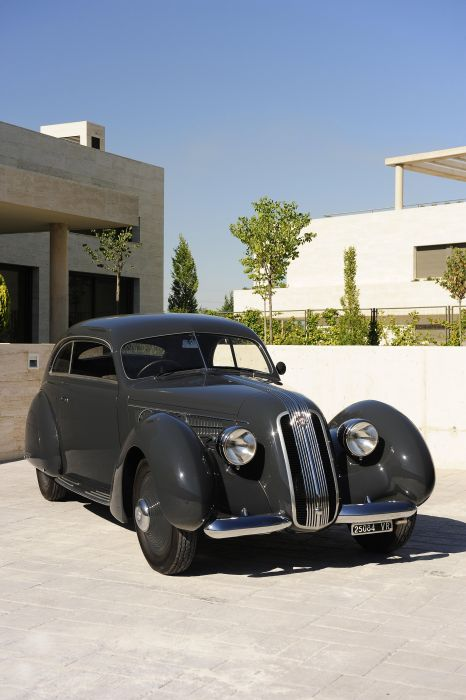 1937 Alfa Romeo 6-C 2300B Pescara Berlinetta retro luxury wallpaper