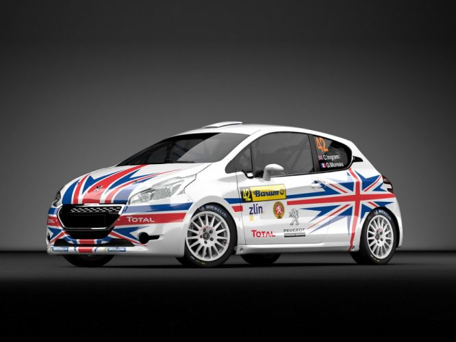 2014 Peugeot 208 R-2 Rally race racing tuning wallpaper