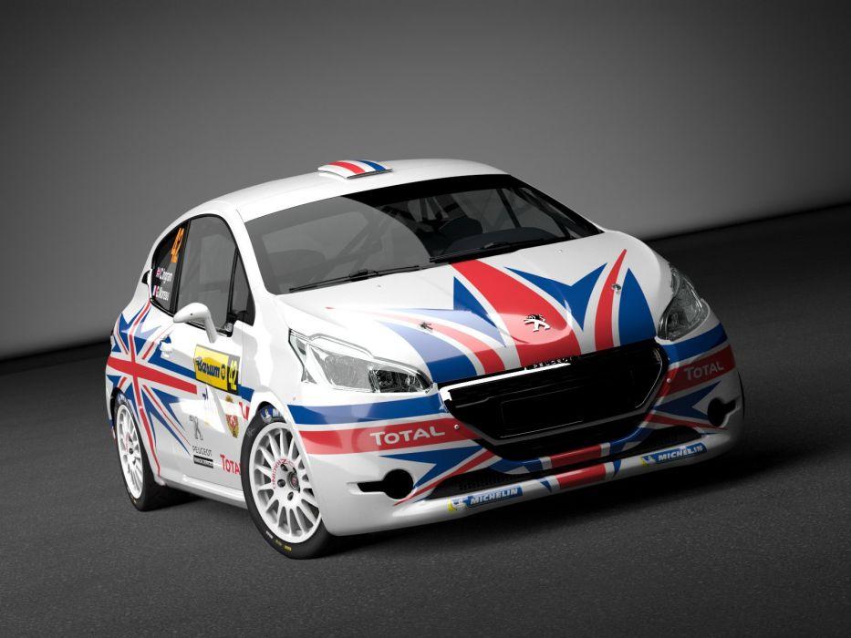 2014 Peugeot 208 R-2 Rally race racing tuning wallpaper