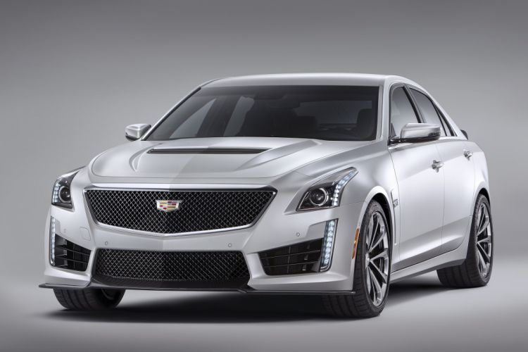 2016 Cadillac CTS-V luxury performance wallpaper