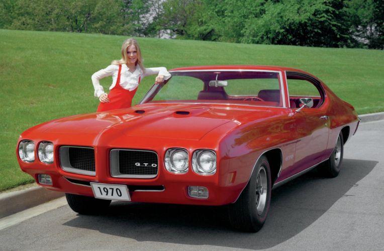 1970 Pontiac GTO Hardtop Coupe 4237 muscle classic wallpaper