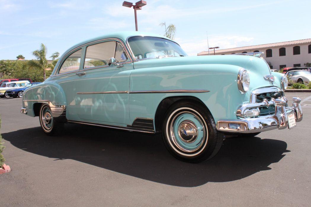 1952 Chevrolet Deluxe Coupe retro hardtop wallpaper