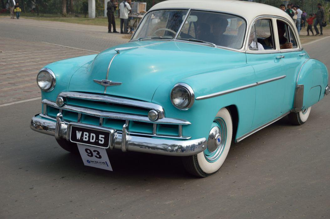 1949 Chevrolet Styleline retro wallpaper