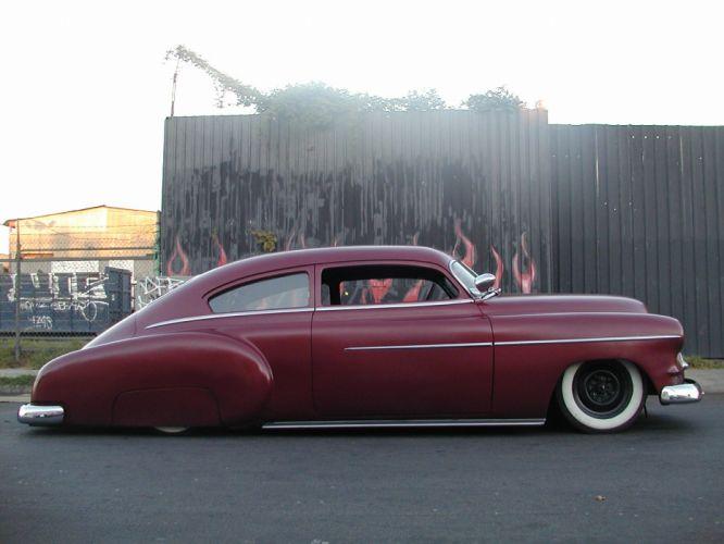 1949 chevrolet fleetline Deluxe retro lowrider wallpaper