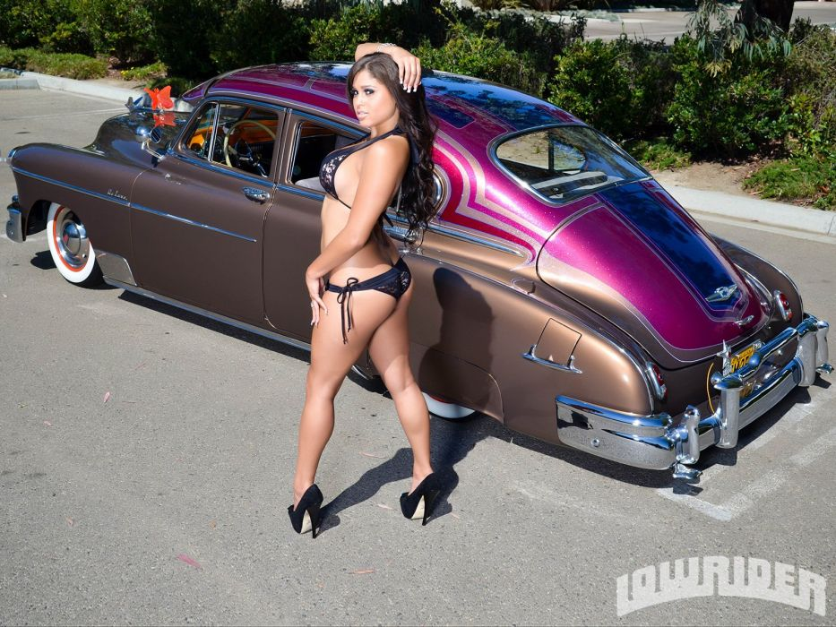 1949 chevrolet fleetline Deluxe retro lowrider wallpaper